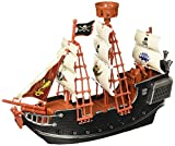 "Oasis Supply Extra Large Pirate Ship Cake Topper - 10"" Long"