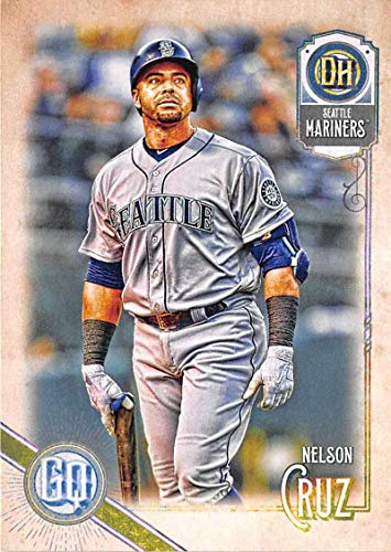 2018 Topps Gypsy Queen #297 Nelson Cruz Seattle Mariners Baseball Card - GOTBASEBALLCARDS