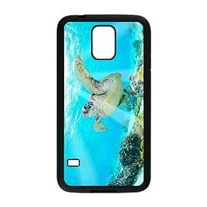 HXYHTY Customized Print Tortoise Hard Skin Case For Samsung Galaxy S5 I9600