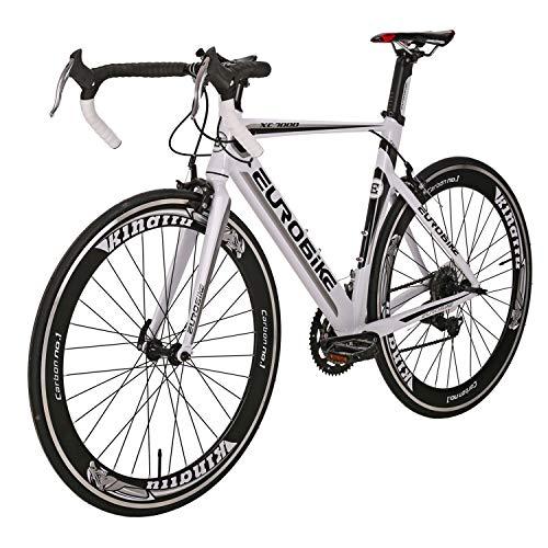 - Road Bike LZ XC7000 Aluminum Alloy Bicycle disc Brake 14 Speed Road Bike White