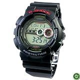 Casio Men's G-Shock GD-100-1A Black Digital Sport Watch