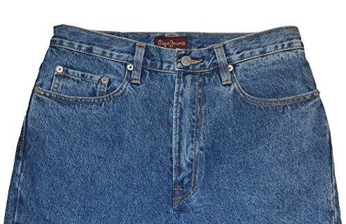 PEPE Jeans London Comfort M129 Comfort Fit Zip Fly Jeans Hose blau (W30/L32)