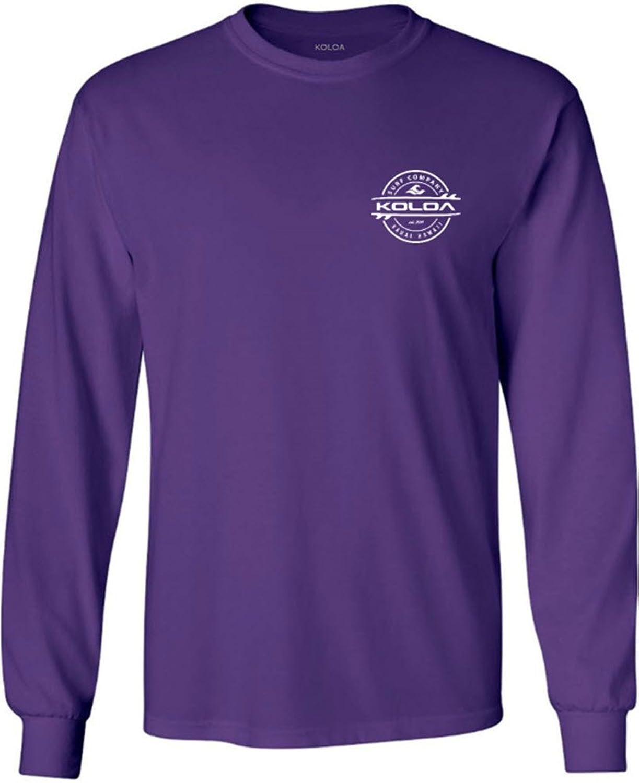 Joe's USA SHIRT メンズ B073Z2TNQ1  Purple With White Thruster Logo M