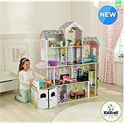 KidKraft Grand Estate Dollhouse + 26 Pieces of Furniture