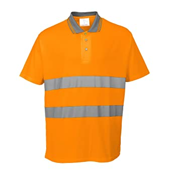 Portwest S171ORR4XL - Polo de algodón, talla 4XL, color naranja ...