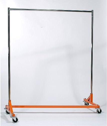 Medium Duty Steel 350 lb. Capacity Z Rolling Rack
