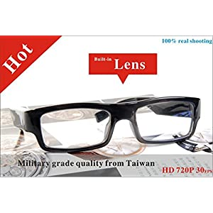 16GB Real HD 720P Spy Camera Glasses DVR Mini DV Eyewear Video Recorder