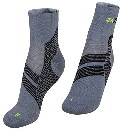 Compression Socks (Gray/Black, - Gb Triathlon