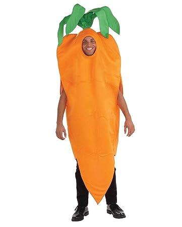0e6a7989680 Horror-Shop Knackiges Oranges Karotten Unisex Kostüm für Gruppen am  Straßenkarneval