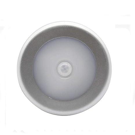 Detector de movimiento por infrarrojos LED PIR Luz de noche ...