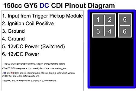scooter cdi diagram, cdi installation diagram, 5 pin cdi wire diagram,  suzuki cdi
