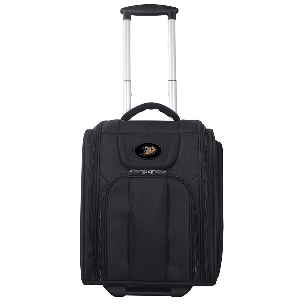Anaheim Mighty Ducks Business Tote laptop bag Luggage (Color: Black) by Denco (Image #1)