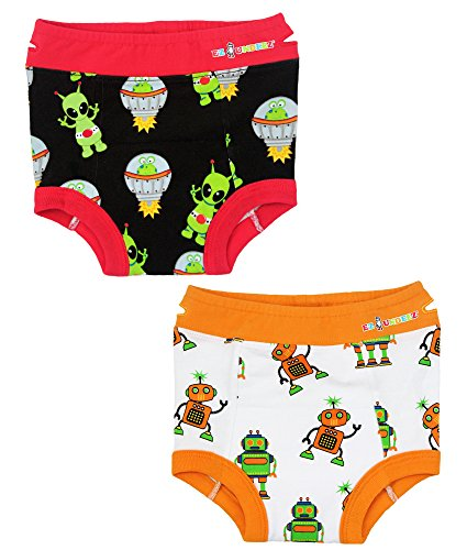 Toddler Potty Training Pants with Padded Liner, 2-pack