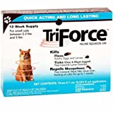 Tradewinds 3 MONTH TriForce for SMALL CATS 2.25 lbs