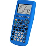 Guerrilla Silicone Case for Texas Instruments TI-83 Plus Graphing Calculator, Blue