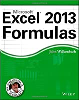 Excel 2013 Formulas Front Cover