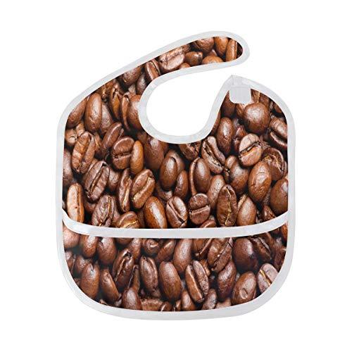 Jamaican Blue Mountain Coffee Beans Baby Bibs Waterproof,Washable,Baby Teething Bib 6-24 Months