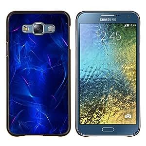 Stuss Case / Funda Carcasa protectora - Electricidad Lava Plasma Negro - Samsung Galaxy E7 E700