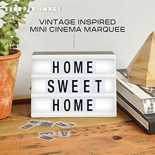 Amazon.com: Sharper Image Mini Cinematic Light Up Box LED ...