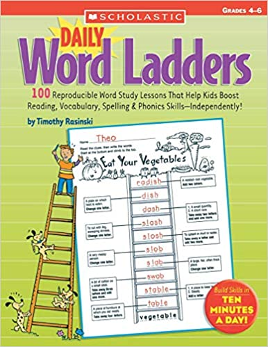 Daily Word Ladders Grades 4 6 100 Reproducible