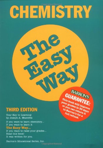 Chemistry the Easy Way (Barron's E-Z)