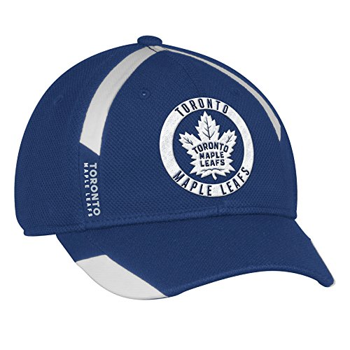 adidas Toronto Maple Leafs NHL Authentic Pro Practice Jersey Hook Flex Cap - Small/Medium