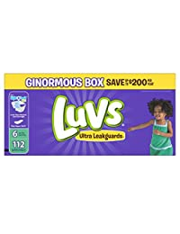 Luvs Ultra Leakguards Diapers Size 6, 112 Count BOBEBE Online Baby Store From New York to Miami and Los Angeles