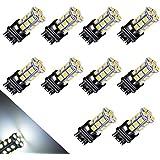 YITAMOTOR 10 X 3157 5050 24-smd LED White Light Backup Reverse Bulb Lamp 3757 3457 4114