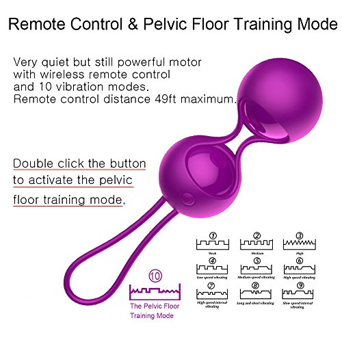 2-in-1-Kegel-Exercise-Weights-Kit-Ben-Wa-Balls-Kegel-Balls-for-Women-Beginners-Silicone-Wireless-Remote-Control-Massager-Rechargeable-Waterproof-Bladder-Control