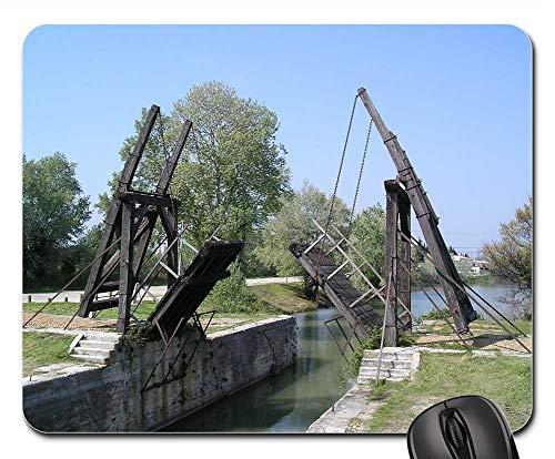 (Mouse Pads - Bridge Camargue Arles Bridge Van Gogh Monuments 1)