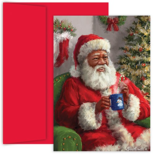 Masterpiece Studios Holiday Collection Boxed Cards, Santa...