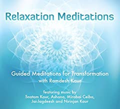 Deeply relax into the gentle embrace of Ramdesh Kaur s guided meditations supported by ancient mantras, angelic voices, and crystal singing bowls! Ramdesh Kaur is one of the best-known Kundalini yoga teachers in the world, and has been called...