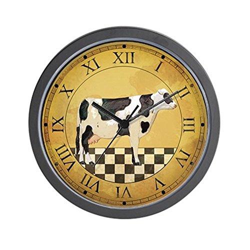 CafePress - Country Cow Clock - Unique Decorative 10