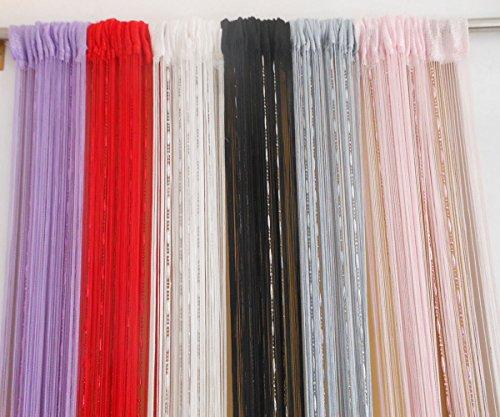 Zidetang dew drop beaded door curtain tassel divider color - Purple beaded door curtains ...