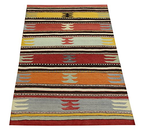 Kilim rug 3,4x2,4 feet Area rug Old rug Nomadic Kilim Rug Throw kilim rug Floor Kilim Rug Turkish Rugs Room Decor Accent Kilim Rug