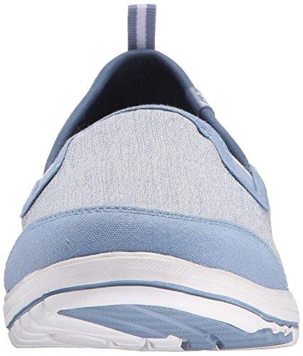 Keds Kvinna Lite Rask Slip-on Sneaker Blå Duk