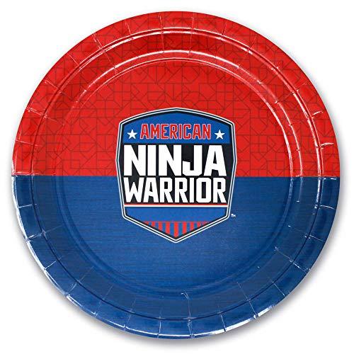American Ninja Warrior 9 Paper Dinner Plate - Pack of 10