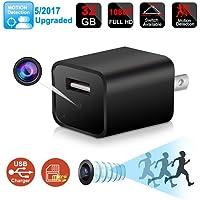 1080P HD USB Wall Charger Hidden Camera 32GB