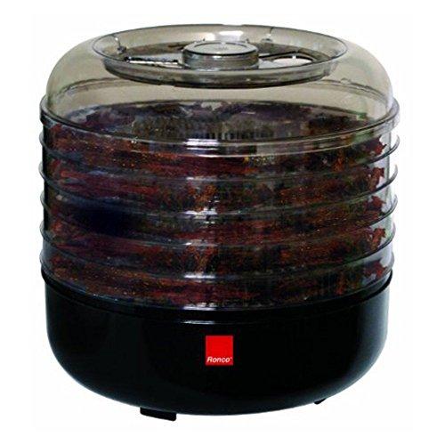5 Tray Beef Jerky Machine with Kit - Ronco FD5000BLGEN