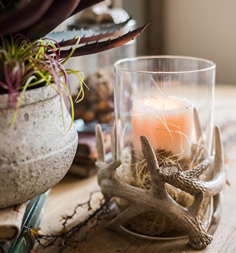 Unique Antlers Design Candle Holder Votive Candle Lantern Decoration(No Candle) by RockTrend (Image #4)
