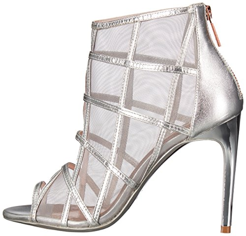 Talons À Baker Chaussures Xstal Ted Femmes Silver Z8AgxnXqw