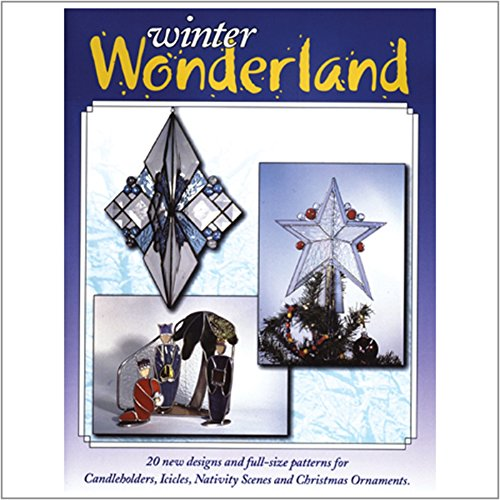 (Winter Wonderland - Stained Glass Pattern Book Full Size Patterns)