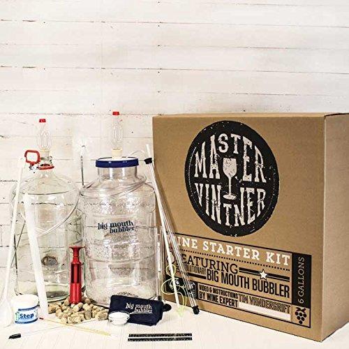 Master Vintner Wine Starter Kit-Glass