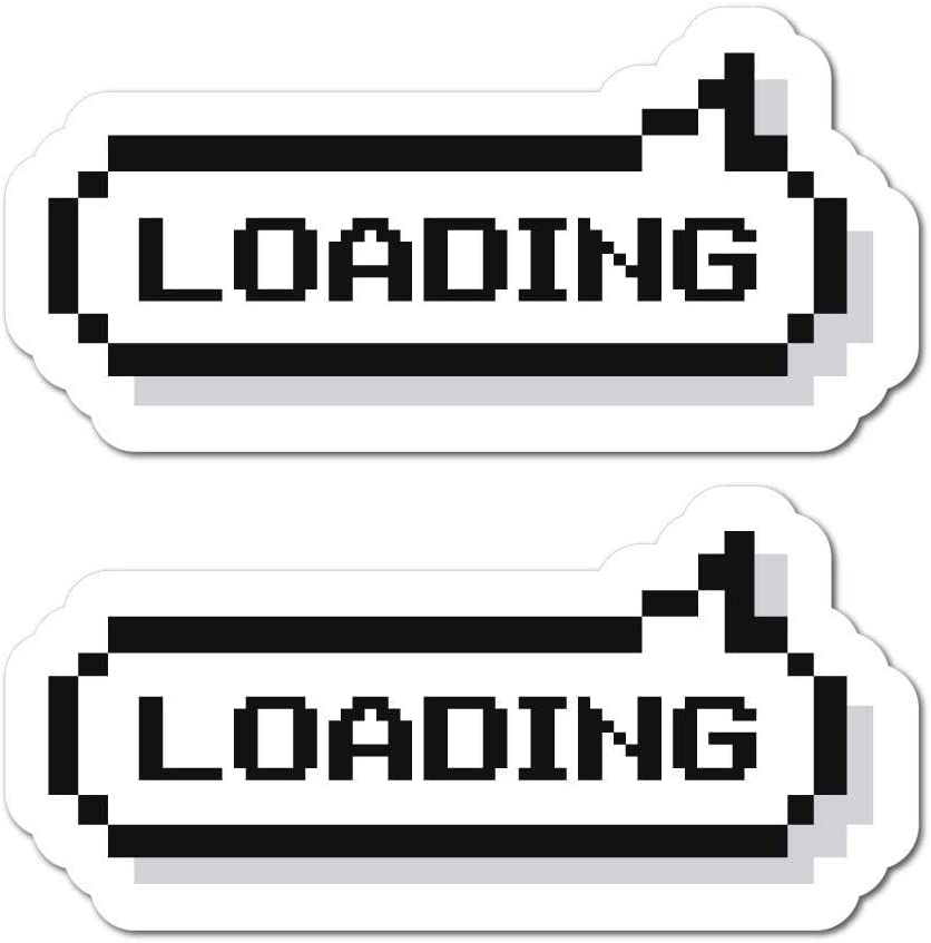 2X Retro Gamer Sticker Decal Funny Player Gaming Pc Console Nerd Gamer