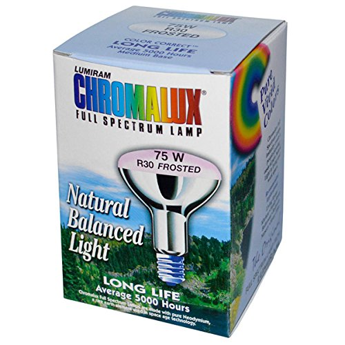 Chromalux 75 Watt Frosted Reflector Floodlights - 1 -