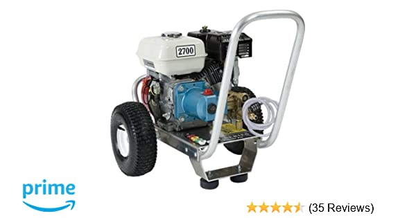 Pressure Pro E3027HC Heavy Duty Professional 2,700 PSI 3 0 GPM Honda Gas  Powered Pressure Washer With CAT Pump