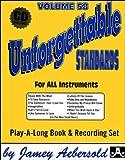 Vol. 58, Unforgettable - Standards (Book & CD Set)