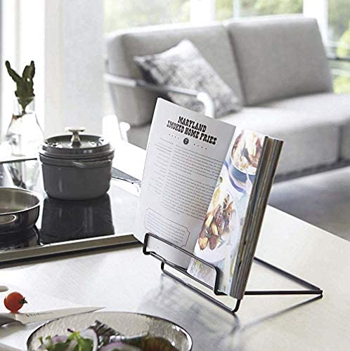 Foldable Cookbook Holders Portable Free%EF%BC%88Black%EF%BC%89 product image