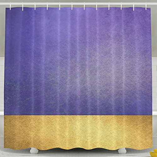 Water-Repellent Shower Curtain Stripes Lines Spots Shine Shower Curtain 100% Polyester Fabric 36