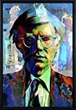 Andy Warhol art prints wall decor - framed canvas art by Mark Lewis Art - fwm - Living descendant of Cy Young the baseball legend